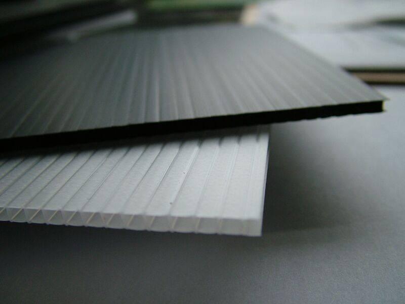 Fluted Polypropylene Board