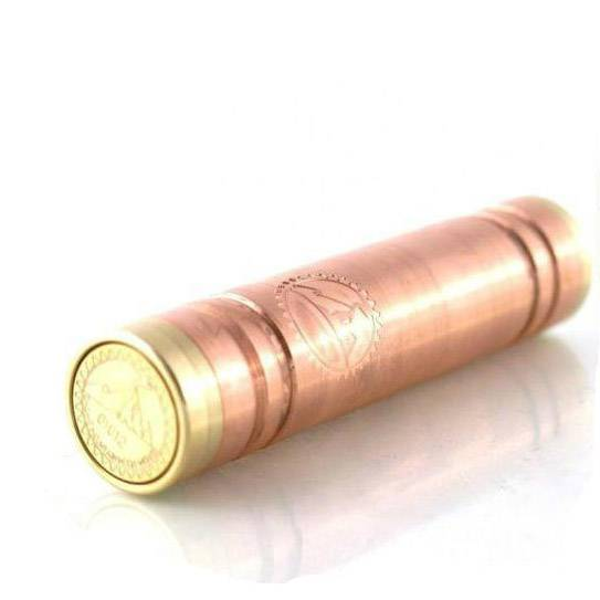 Wholesale - 2014 New Arrive Red copper Mechanical mod vanilla mod clone for 510 Thread Clearomizer E