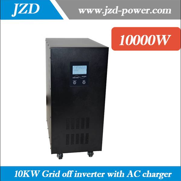 10KW/10000W Grid off inverter dc to ac Inverter 96VDC to 220VAC 50HZ low Frenquency Inverter