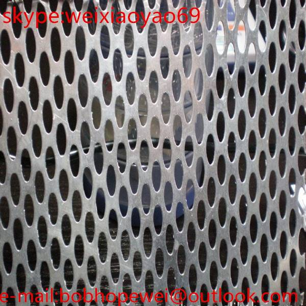 galvanized Punching hole mesh/Perforated metal sheets & plates