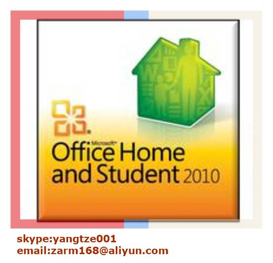 Office 2010 Home and Student Product FPP Key
