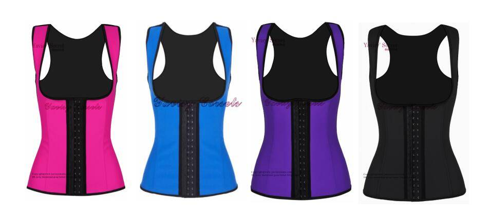 China Wholesale Cheap Latex Waist Training Corset Vest
