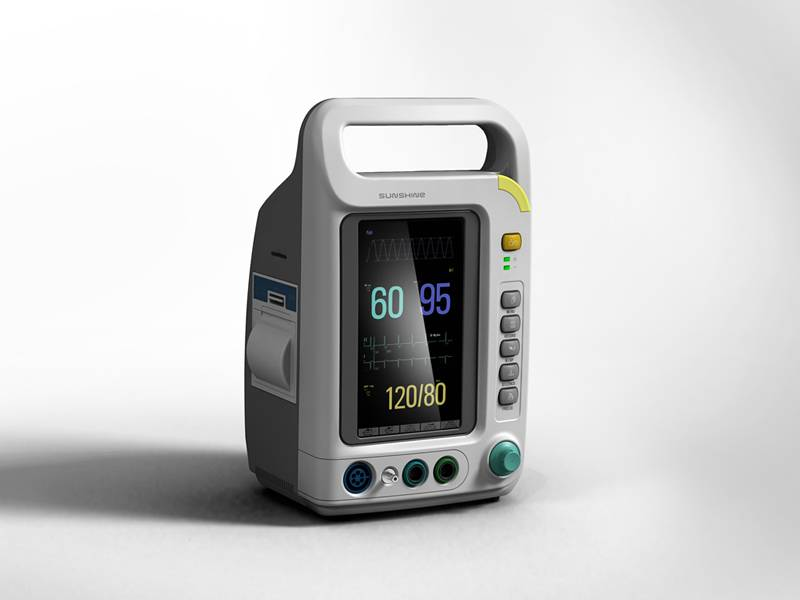 K-8000A 7 inch patient monitor