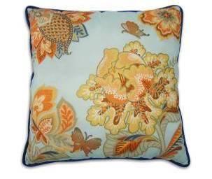Serene Antique-Printed pillow