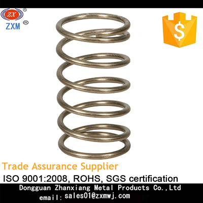 sell zinc plated steel compression spring