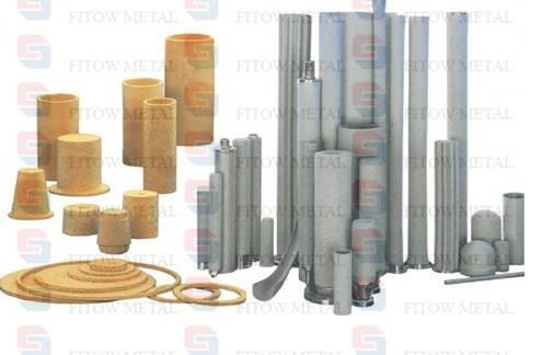 Micro titanium microporous sintered filter
