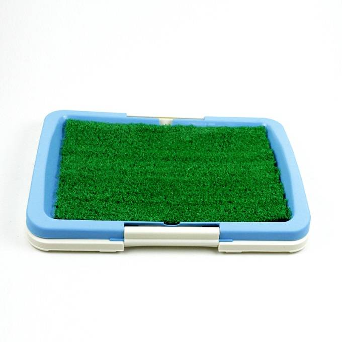 Pet Dog Toilet Grass Mat Dog Urinary Toilet Tray pad Dog Three Layers flat sodding Toilet Mat