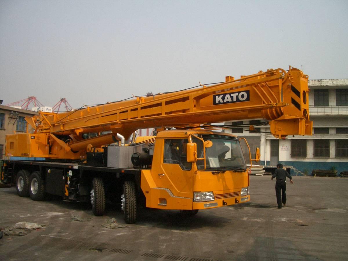 Used Crane Kato 50t in Good Condition