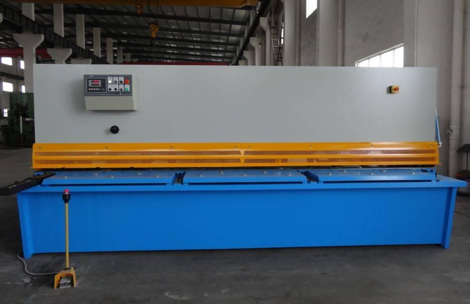 hydraulic swing beam shearing machine QC12Y-12x2000