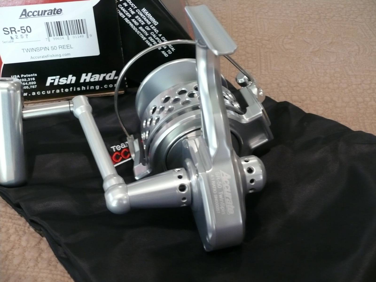 Accurate Twin Spin SR-50 Spinning Reels
