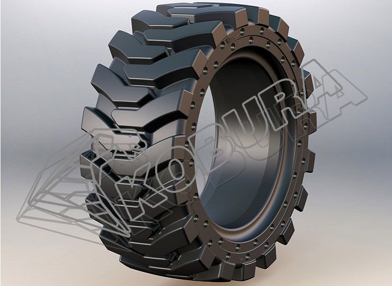 Telehandler Solid Tires-801H kobura