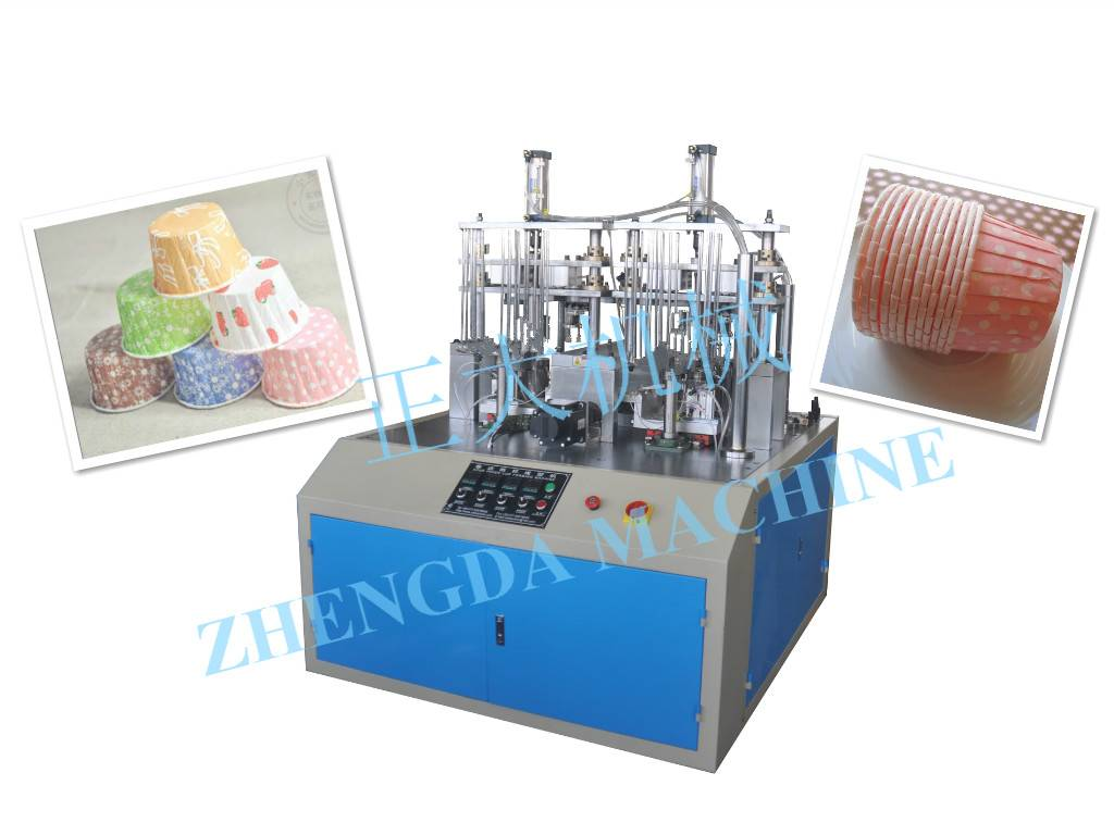 JDGT-BE Crimped Cake Cup Machine