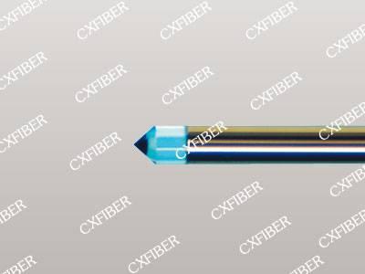 Long-focus Lensed Fiber