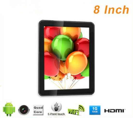 Best chinese 8 inch TFT actions ATM7029B android wifi tablet pc with 4000mAh battery