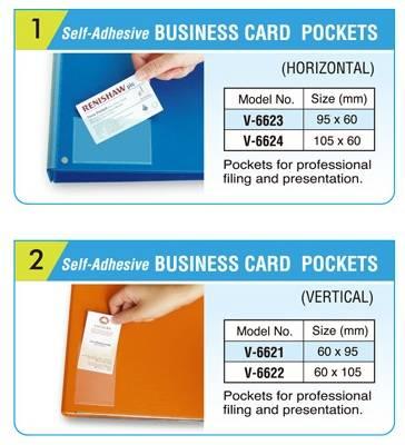 Selling name card pocket business card pocket
