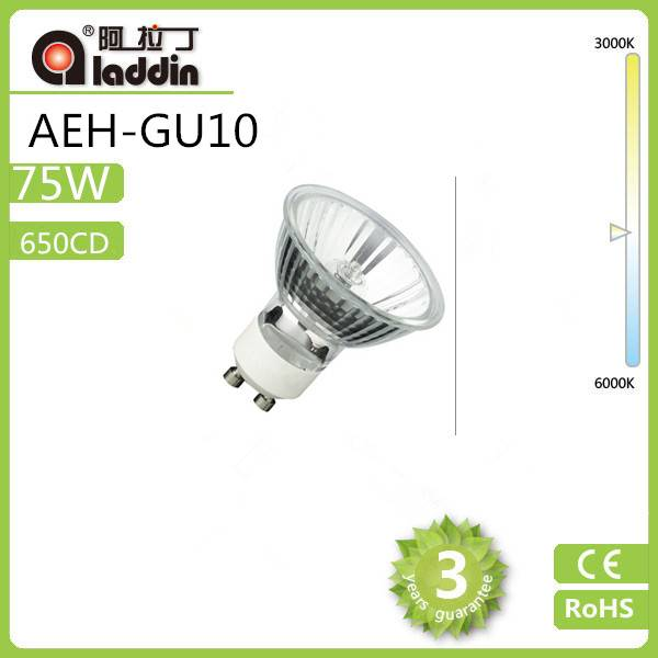 aladdin JDR 110/230V 50W ECO tungsten halogen lamp GU10 with ERP