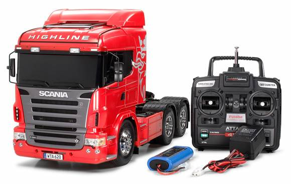 Tamiya 1/14 Scale Scania R620 6x4 Highline Full Operation Kit