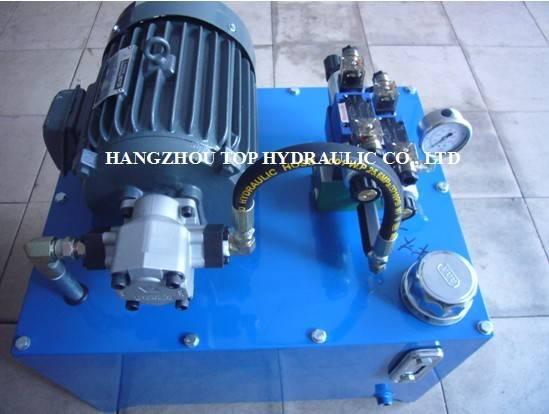 hydraulic pump station hydraulic power pack unit hydraulic valve