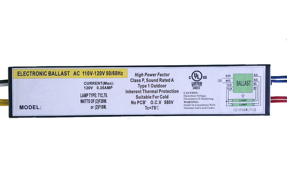 [Factory supply] T10,T12 ballast