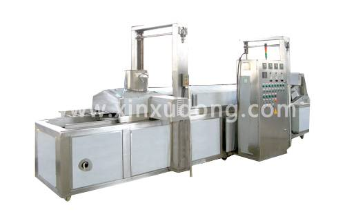 sweet potato strips frying production line