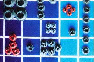 Pharmaceutical butyl rubber stoppers