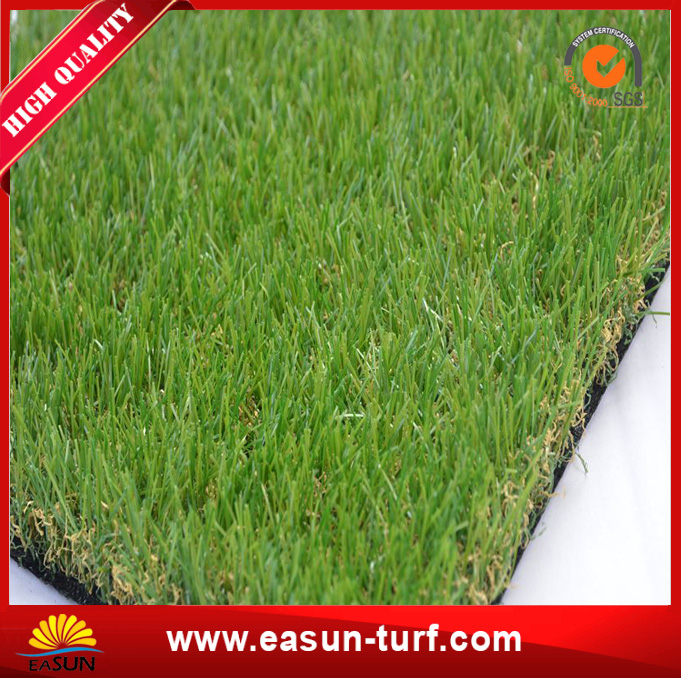 Top level Cheapest soft 4 colors artificial grass for garden landscaping-AL