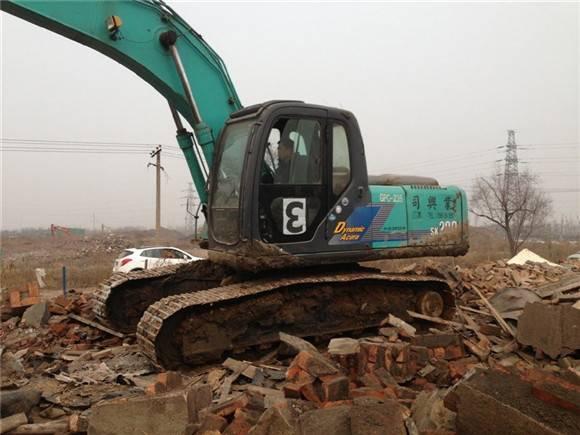 Used kobelco sk200-10 excavator