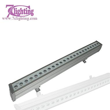 7c-WS2409 IP 65 24x3W Tricolor LED Wall Washer