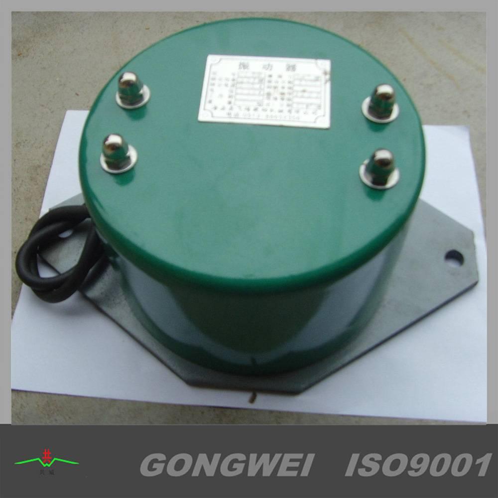 Electromagnetic hopper vibrator motor