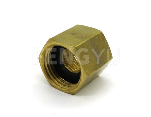 brass hex nut (free lead brass)