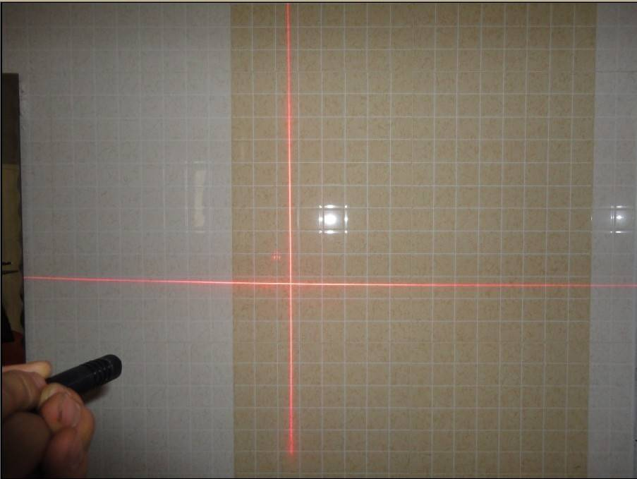 Supply 5meter red cross line laser module for cutting position