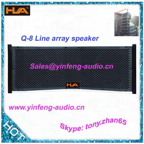 professional line array speaker