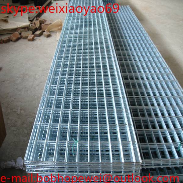 2X2, 4X4, 5X5 inch welded wire mesh panel used for fence with competitive price