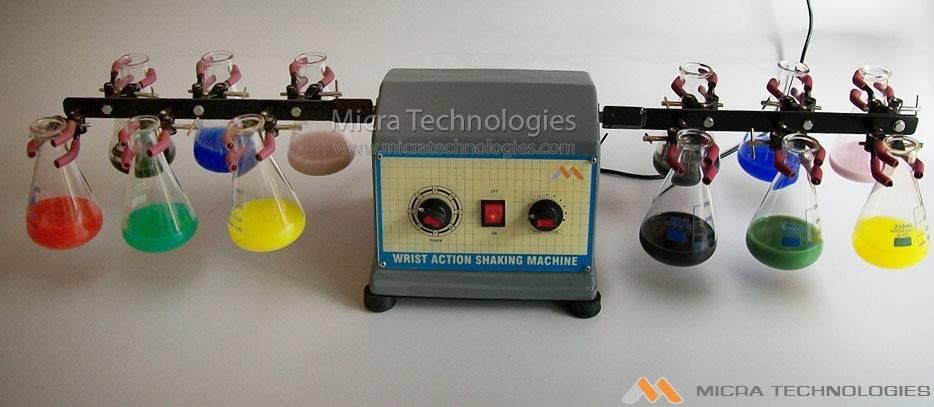 881 - Wrist Action Shaking Machine Manufacturer supplier in India
