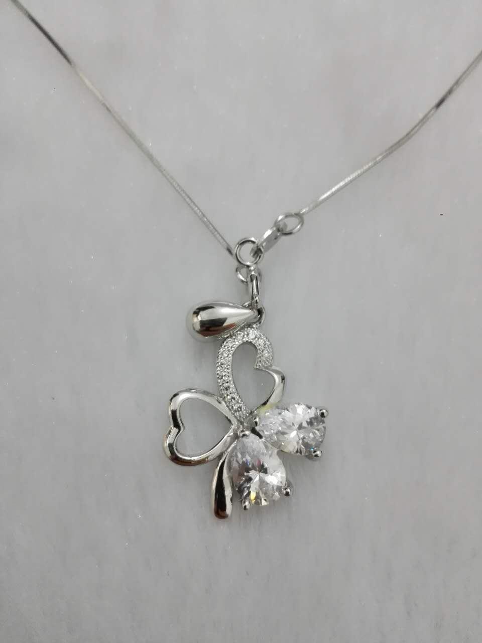 2018 New Design Hot Selling Customer DIY Sliver Necklace