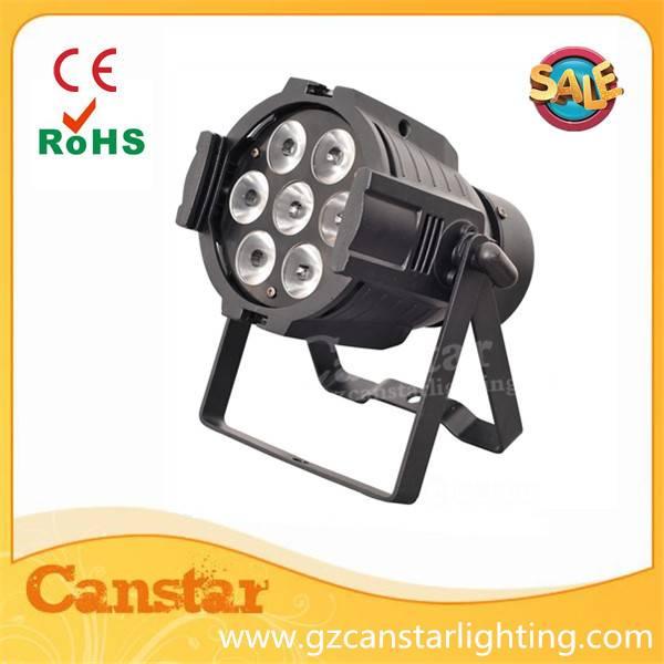 indoor led par light 7x10w RGBW 4 in 1