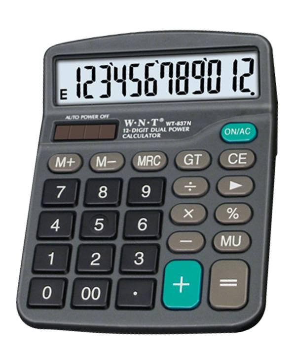 Promotion Desktop Calculator, Hurry Up  (WT-837N)