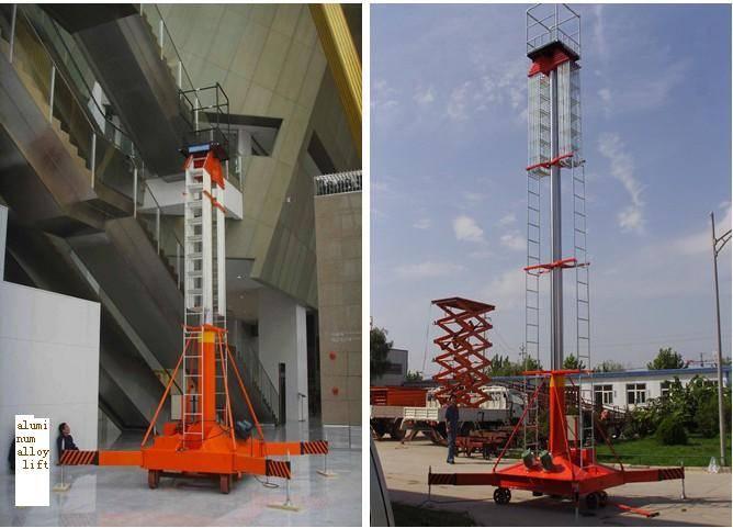 Four Cylinder Hydraulic Lift