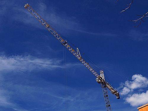 Building Tower Crane QTZ80(TC5613) max load 8t