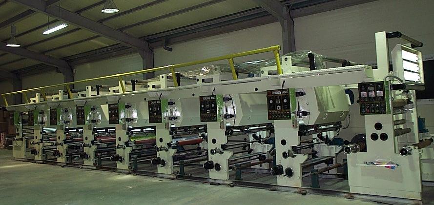 Roto Gravure Printing Machine--- Used