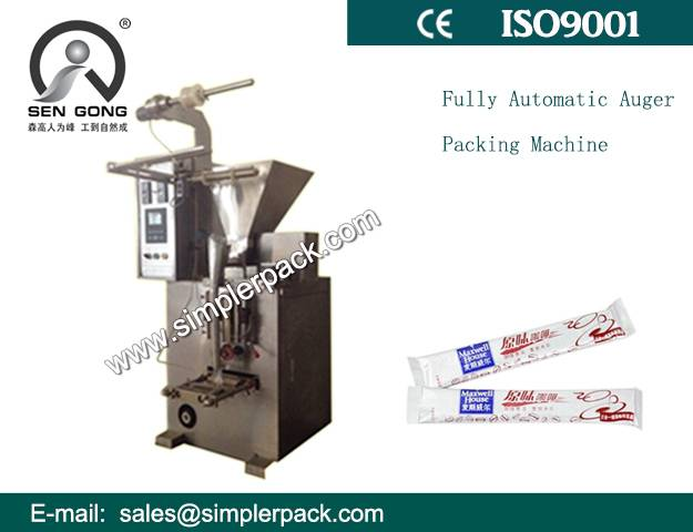 High Quality Fully Automatic Auger Filler Packing Machine for Powder