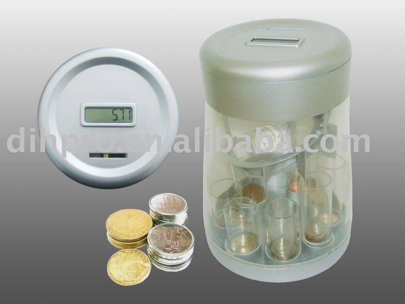 Ditigal coin counter