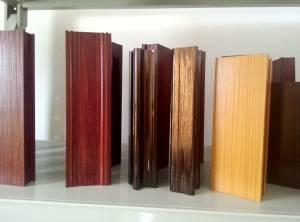 wood grain transfer paper aluminum