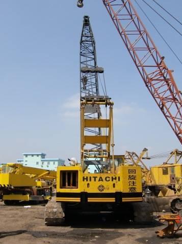 50t Used Crawler Crane Hitachi