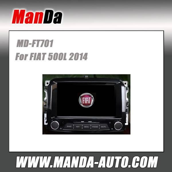 Manda car dvd gps for FIAT 500L 2014 in-dash head unit touch screen dvd gps usb automobiles