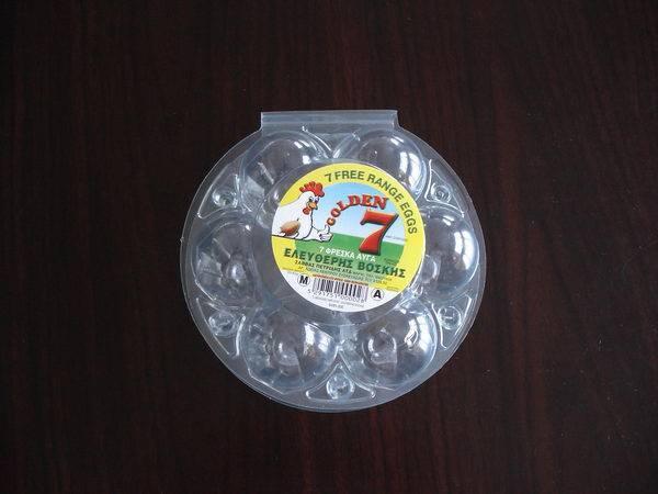 Chicken Eggs Plastic Container