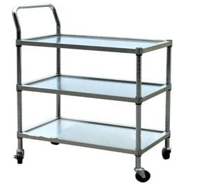 Stainless steel instrument trolley cart RCS-H0I25