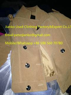 used winter clothes