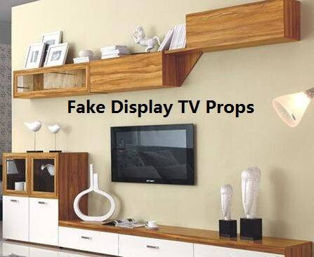 Dummy Fake TV Props/Furniture Decoration/False TV for showroom studio