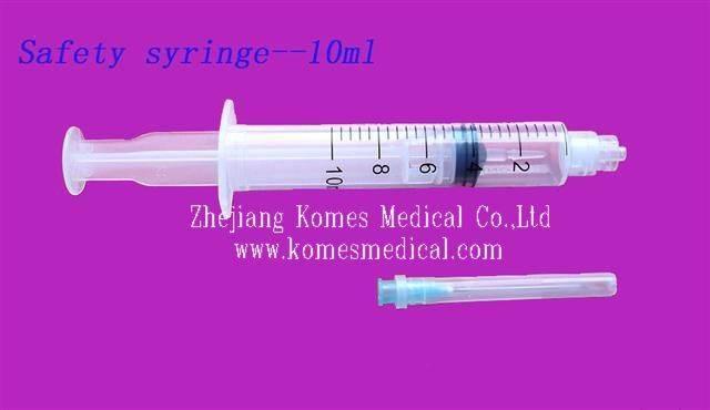 auto discard syringe